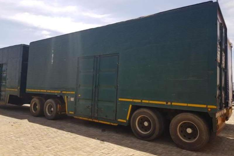 SA Truck Bodies Pantech Closed Body Trailers