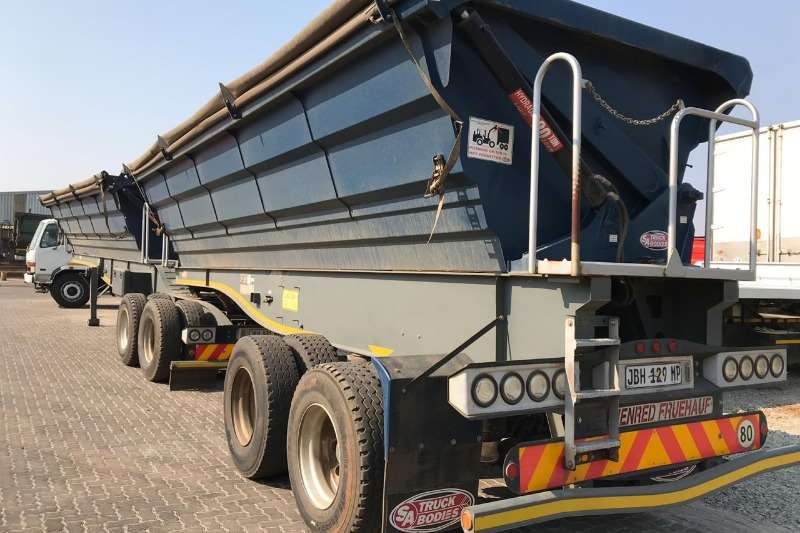 SA Truck Bodies Side tipper 2016 SATB Link Side Tipper Trailers