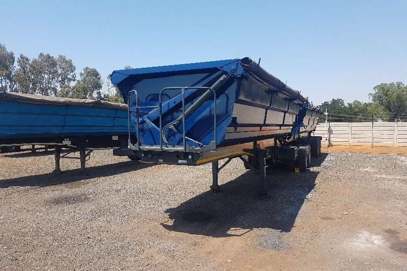 SA Truck Bodies Trailers Side Tipper 45m 2013