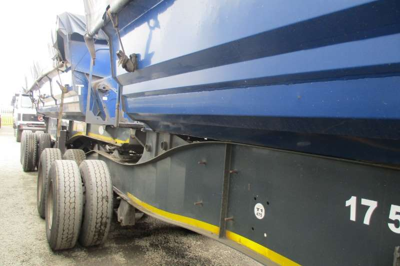 SA Truck Bodies Trailers Side Tipper Combo 40m 2013