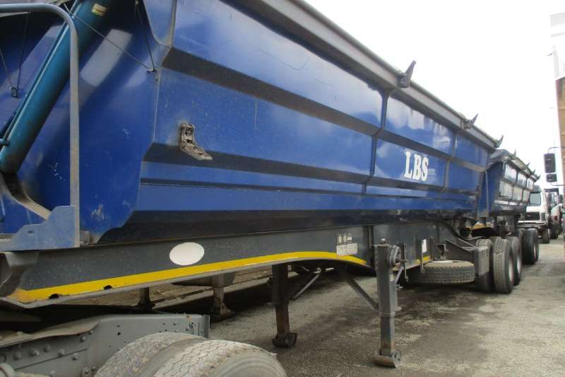 SA Truck Bodies Side Tipper Combo 40m Trailers