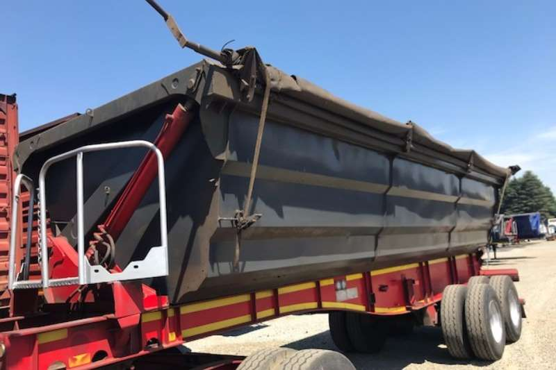 SA Truck Bodies Side tipper Interlink Side Tipper Trailers Trailers