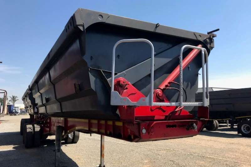 SA Truck Bodies Side tipper Interlink Side Tipper Trailers Trailers