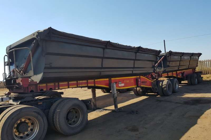 SA Truck Bodies Trailers Side Tipper SATB 45m3  Interlink Sidetipper 2013