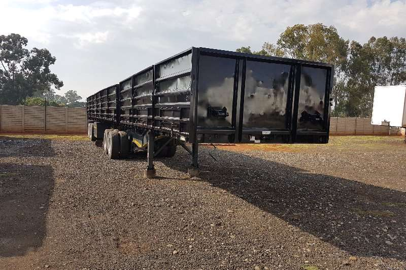 SA Truck Bodies Superlink 6x12m + 1.2m sides Trailers