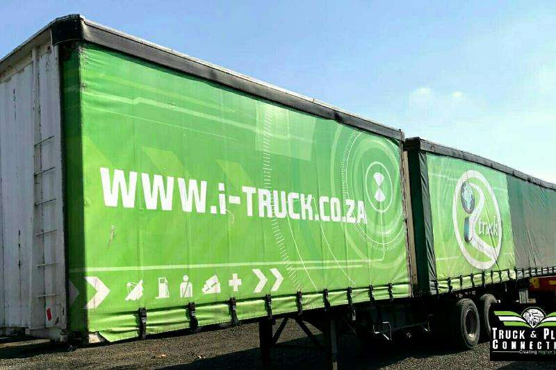 SA Truck Bodies Tautliner 2001 SA Truck Bodies Superlink Tautliner Trailers
