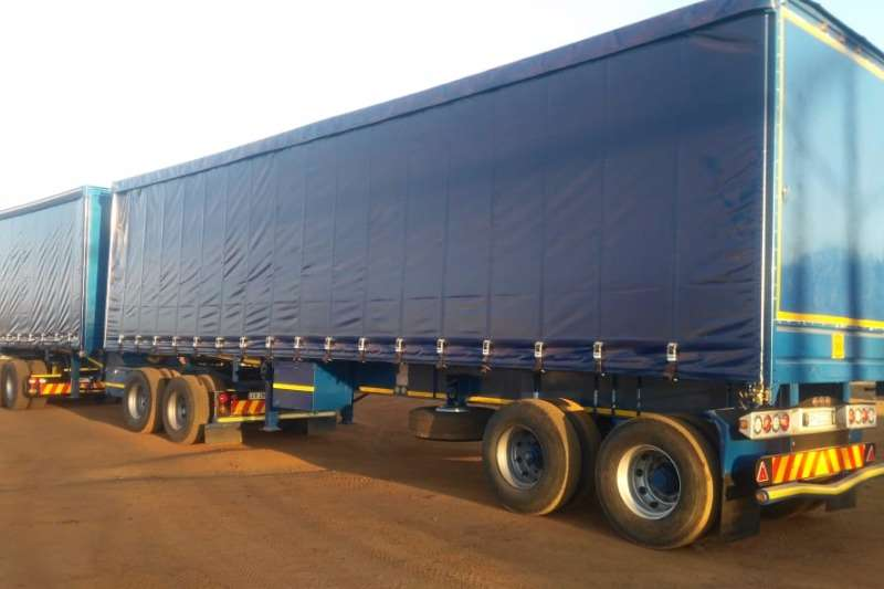 SA Truck Bodies Trailers Tautliner 6/12 2000