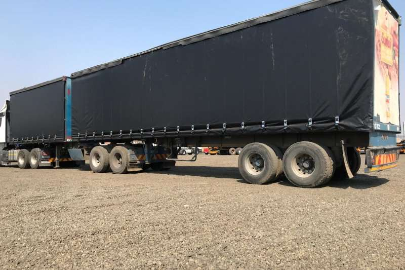 SA Truck Bodies Trailers Tautliner SA Truck Bodies Super Link Tautliner 2002