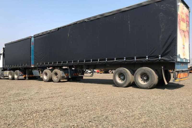 SA Truck Bodies Trailers Tautliner SA Truck Bodies Super Link Tautliner 2002