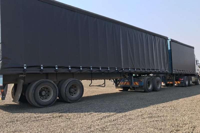 SA Truck Bodies Tautliner SA Truck Bodies Super Link Tautliner Trailers