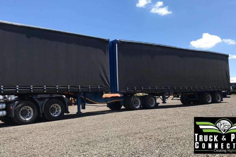 SA Truck Bodies Trailers Tautliner SA Truck Bodies Volume Max Super Link 2014