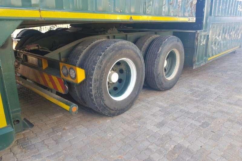 SATB Tri-Axle CLOSED BODY FURNITURE Trailers