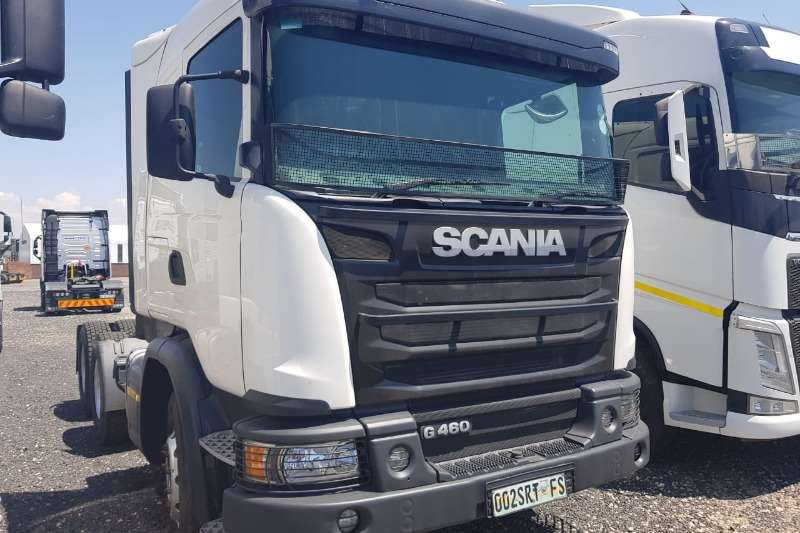 Scania Chassis cab Scania G460 TT Truck