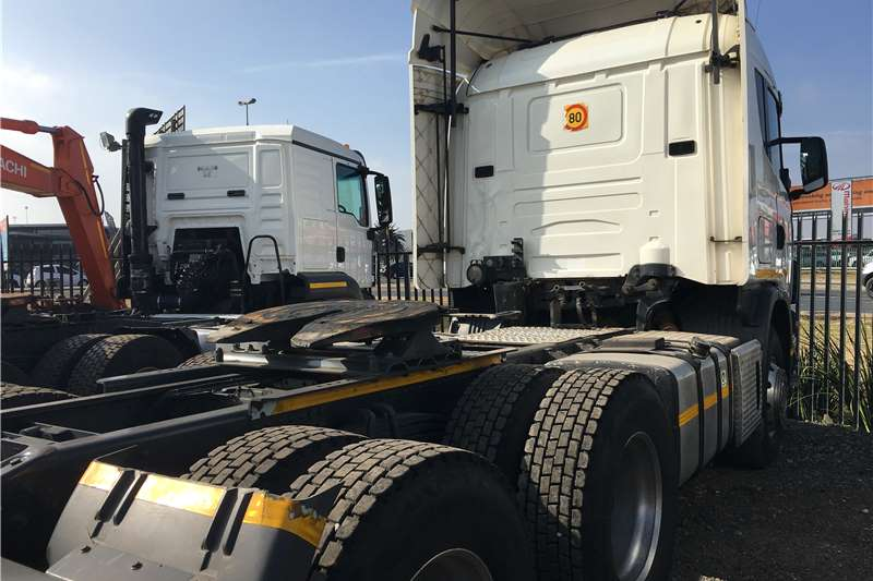 Scania Double axle 2007 Scania R420 Truck-Tractor