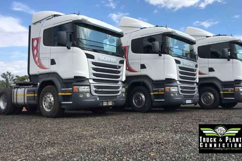 Scania Truck-Tractor Double Axle 3 x Scania R460's 2015