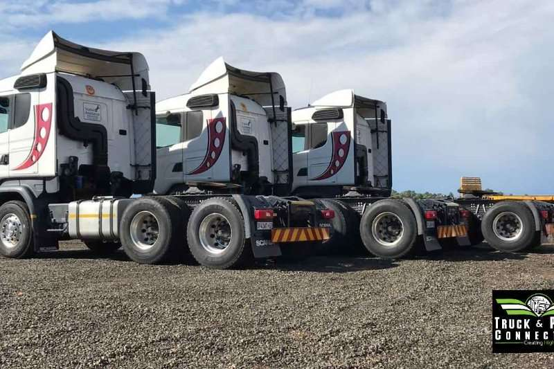 Scania Double axle 3 x Scania R460's Truck-Tractor