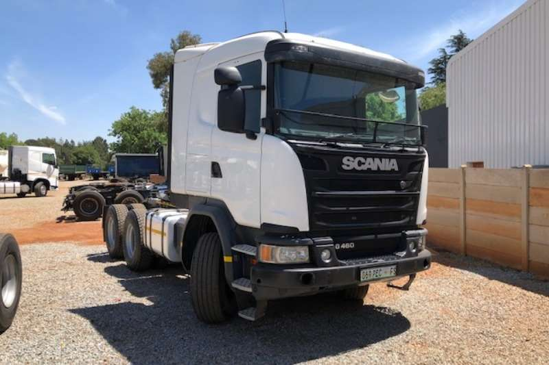 Scania Double axle G460 6x4 T/T Truck-Tractor