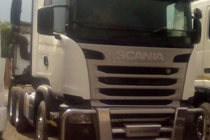 Scania Truck-Tractor Double Axle R470 2011
