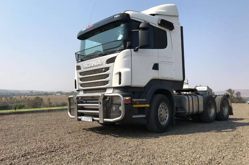 Scania Double axle Scania R420 Truck-Tractor