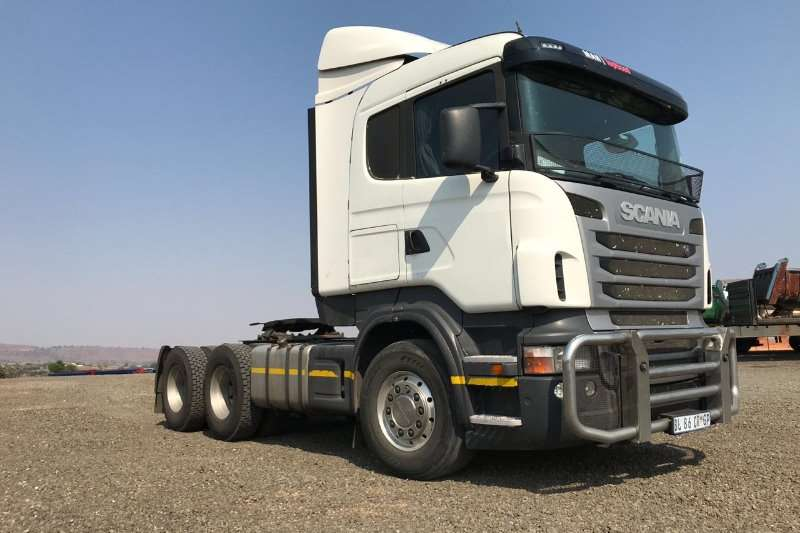 Scania Truck-Tractor Double Axle Scania R420 2011