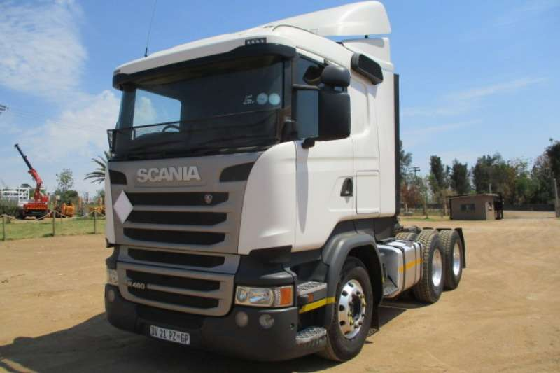 Scania Truck-Tractor Double Axle SCANIA R460 6X4 HORSE 2015