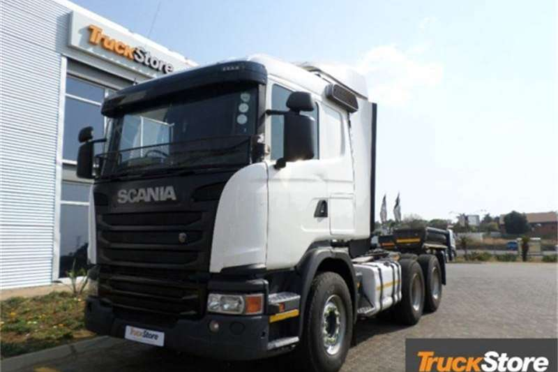 Scania Truck-Tractor G460 CA 6X4 MSZ 2014