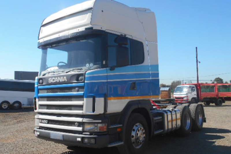 Scania Truck-Tractor Topline R480 6x4 on Air Suspension 2007