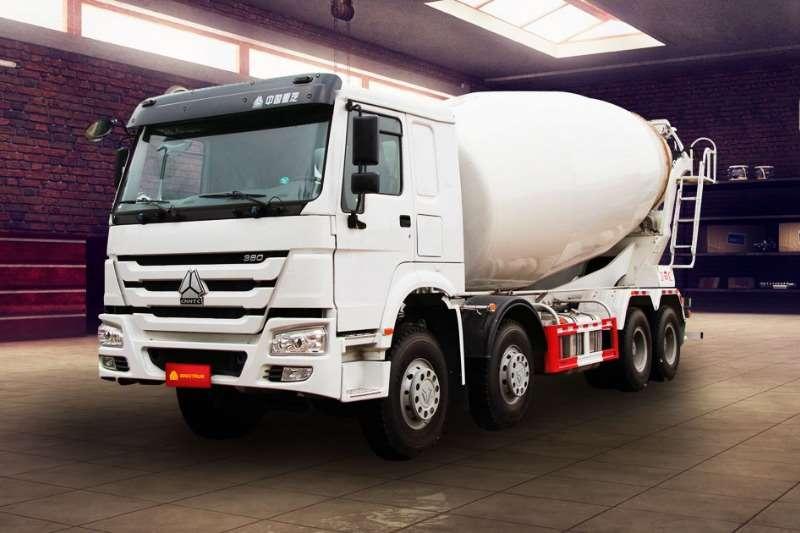 Sinotruk Concrete mixer New   Sinotruk 8m³ Mixer 8x4 Truck