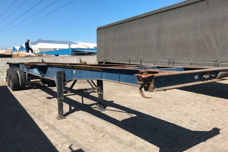 Southern Star Trailers Double Axle 12m Skeletal 2002