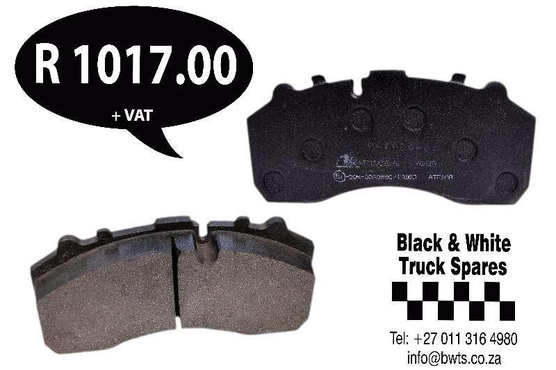 Mercedes Benz Brake Pads Mercedes Actros/MAN Spares
