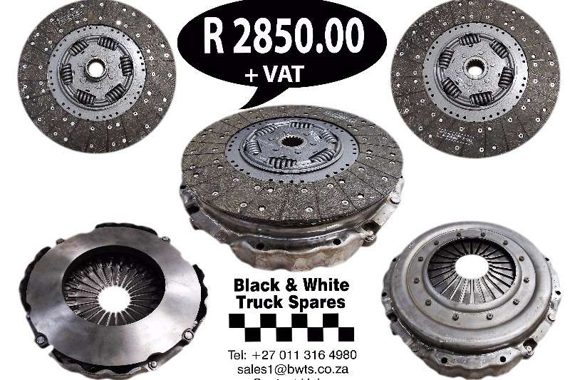 Mercedes Benz Clutch and Pressure plate 380mm Spares