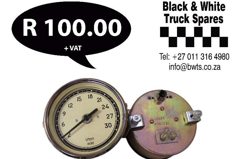 Other Tacho / rev counter diesel 12v Spares