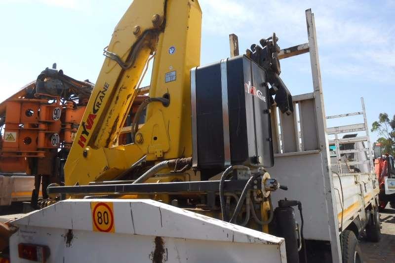 Tata Crane truck TATA 1518 DROPSIDE WITH REAR MOUNT HB150 CRANE Truck