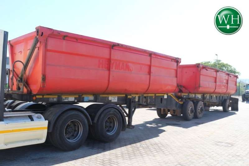 Top Trailer Side Tipper Front and Rear Link