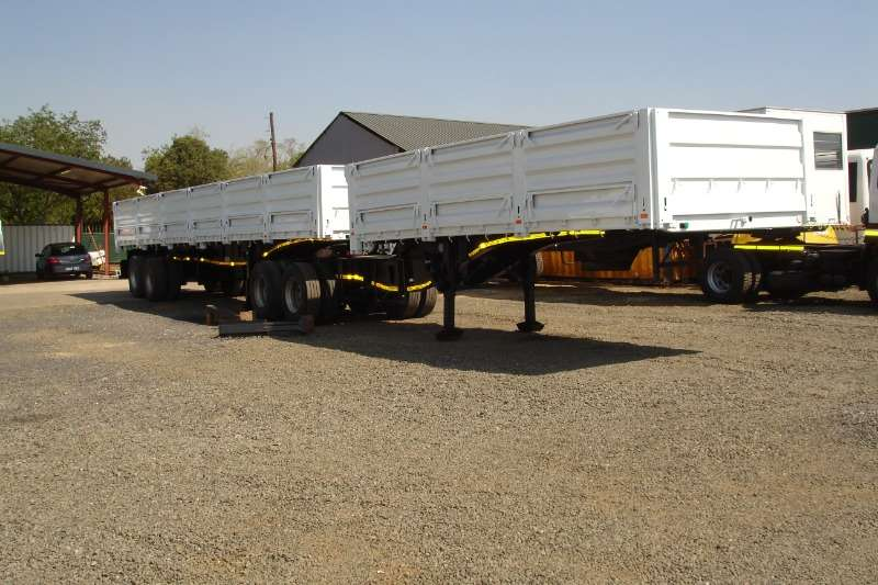 Top Trailer SUPERLINK WITH MAIZE SIDES