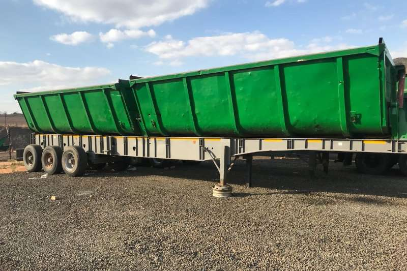 Top Trailer Top Trailer Twin Bin Side Tipper