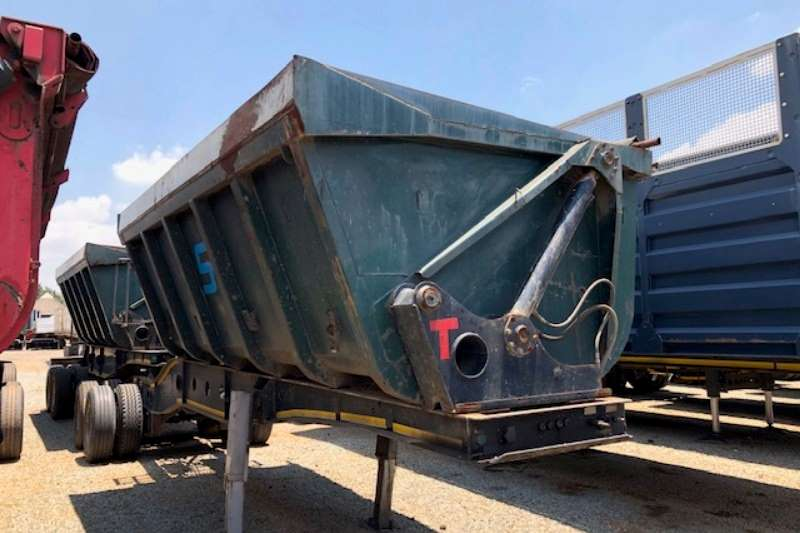 Top Trailer Side tipper 25m³ Interlink Side Tipper Trailer Trailers
