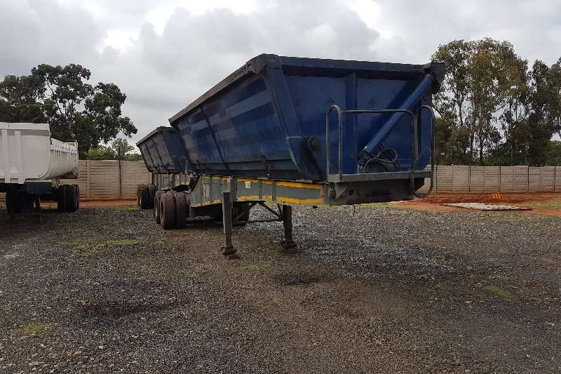 Top Trailer Side tipper 40M Trailers