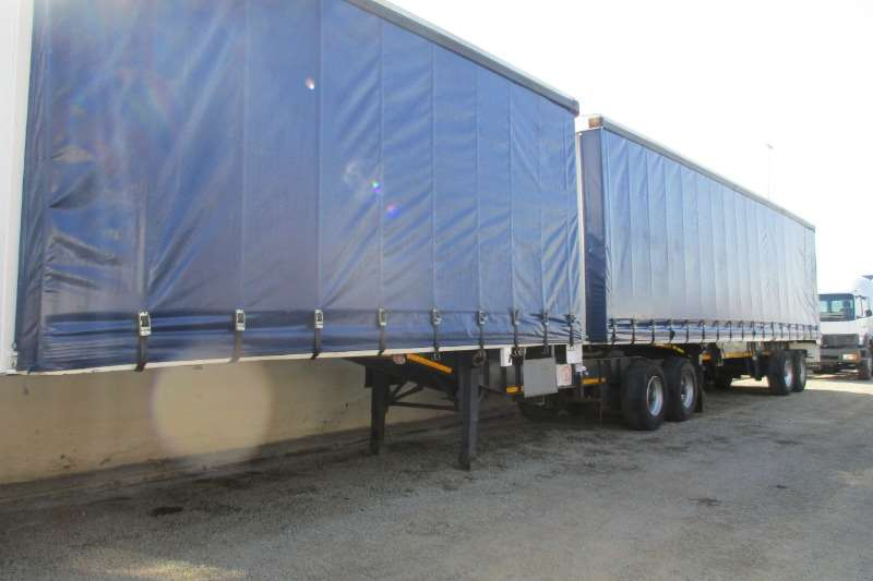 Top Trailer Trailers Superlink tautliner 2002