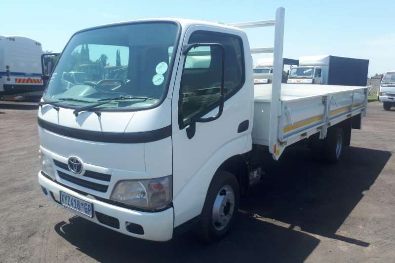 Toyota Dropside TOYOTA DYNA 4 093 DROPSIDE for driving school Truck