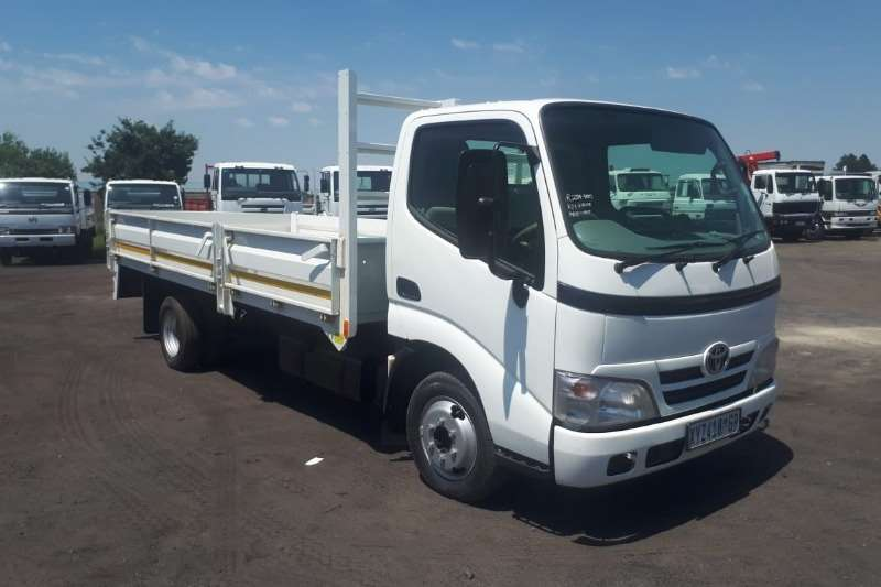 Toyota Truck Dropside TOYOTA DYNA 4-093 DROPSIDE for driving school 2009