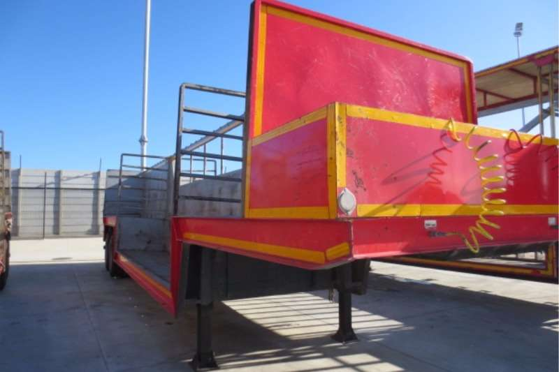Trailers Afrit 12 Pallet Well Deck 1984