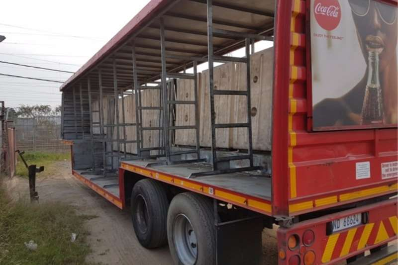 Trailers Afrit 18 Pallet Well Deck 1995