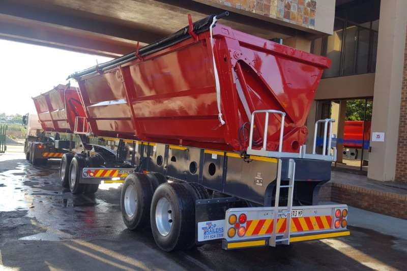 Trailers Afrit 2010 AFRIT SIDETIPPER 45cube WITH SERVICE & RWC 2010