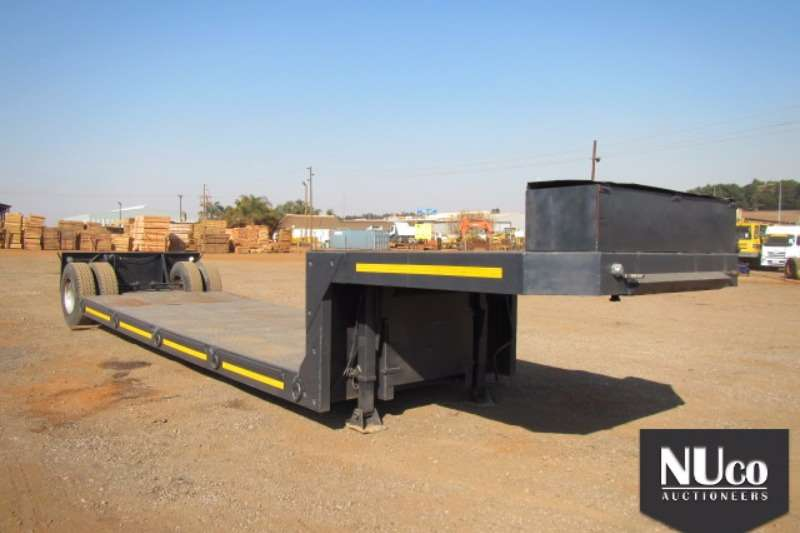 Trailers Afrit AFRIT SINGLE AXLE KICK OUT TRAILER 0