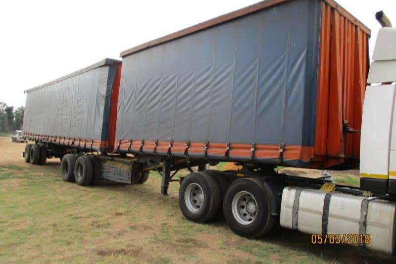 Trailers Afrit Curtain Side AFRIT INTERLINK CURTAIN SIDE TRAILER 2002