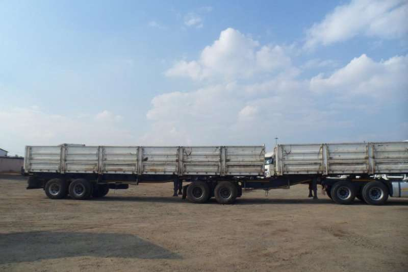 Trailers Afrit Mass Side 6X12 M  1.2 METER MASS SIDE SUPER LINK 2014