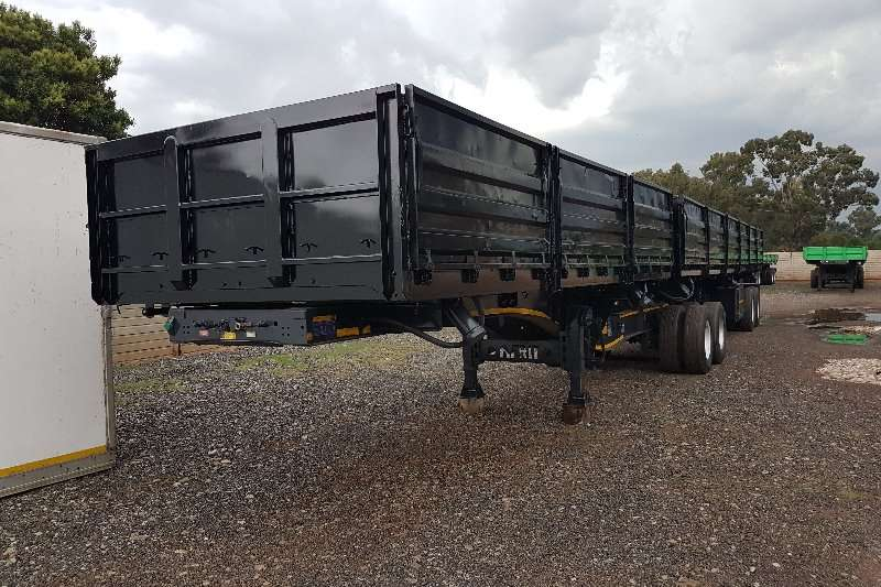 Trailers Afrit Side Tipper 6x12m super link 2013