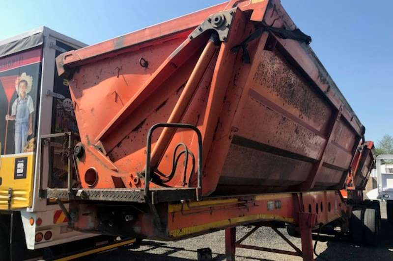 Trailers Afrit Side Tipper USED 2009