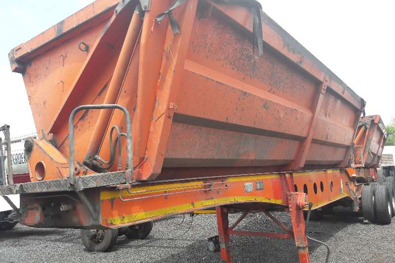 Trailers Afrit Side Tipper Used Afrit Side Tipper Link Available 2008